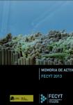 FECYT Activity Report 2013