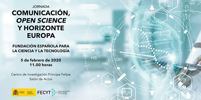 Comunicación, Open Science y Horizonte Europa